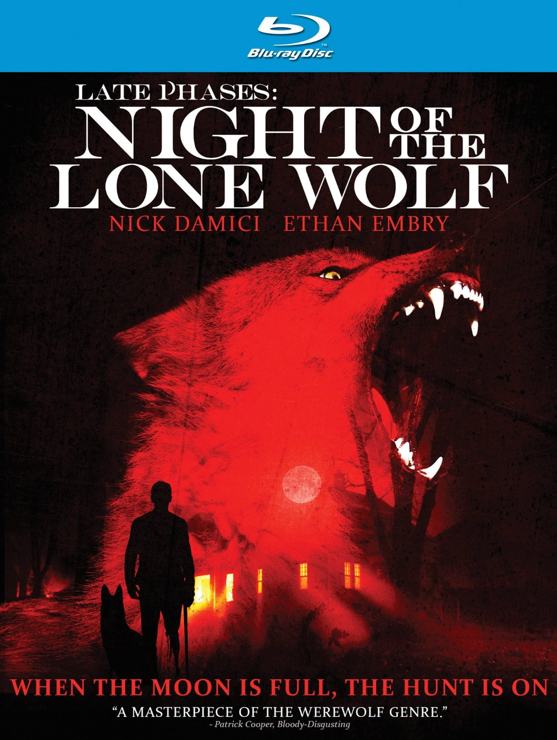 late phases night of the wolf cover Blind army veteran versus a werewolf? Sounds good to me!
