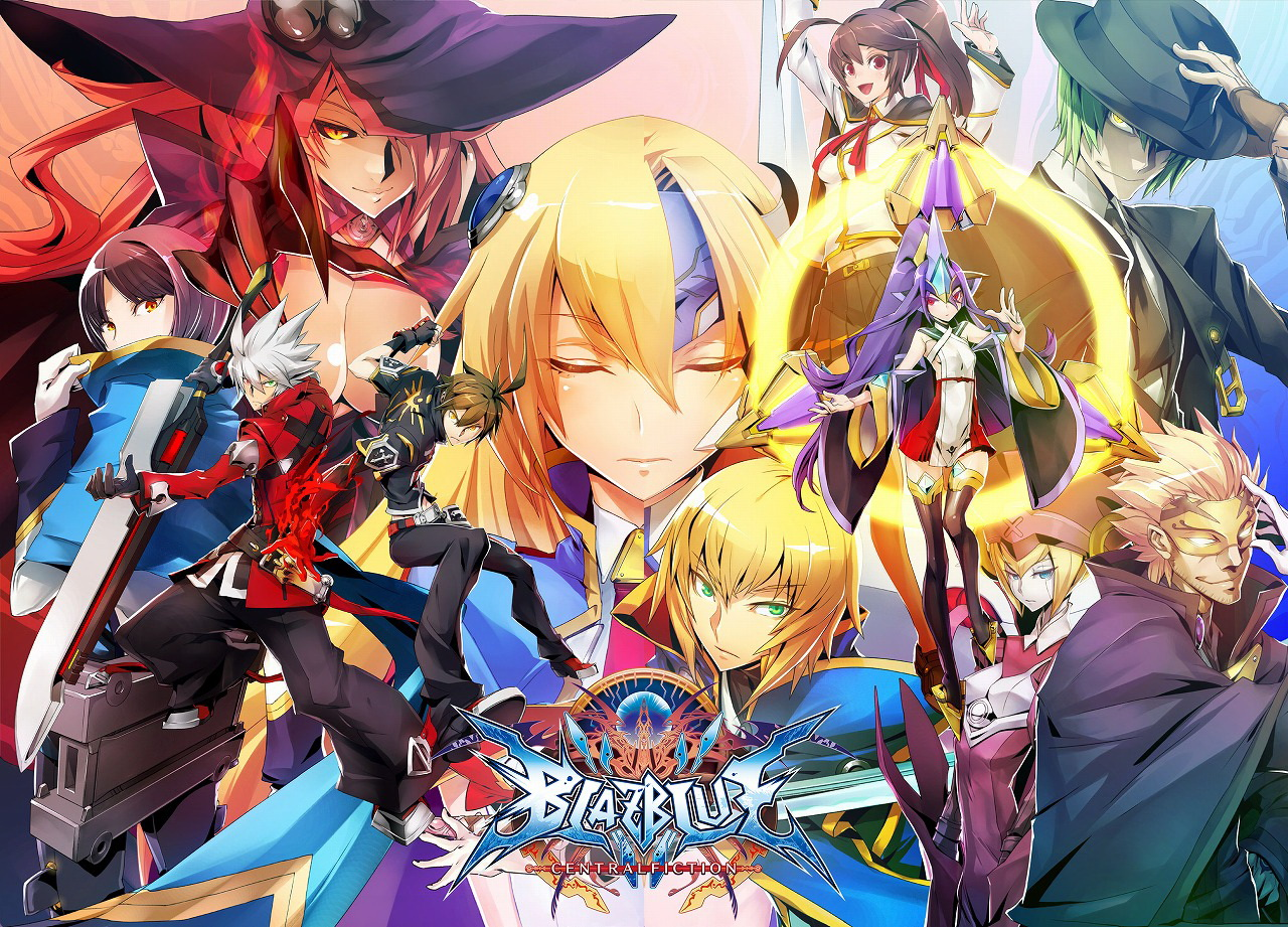 BlazBlue Central Fiction Cast Hazam Noel Vermillion Nine The Phantom Ragna Bloodedge