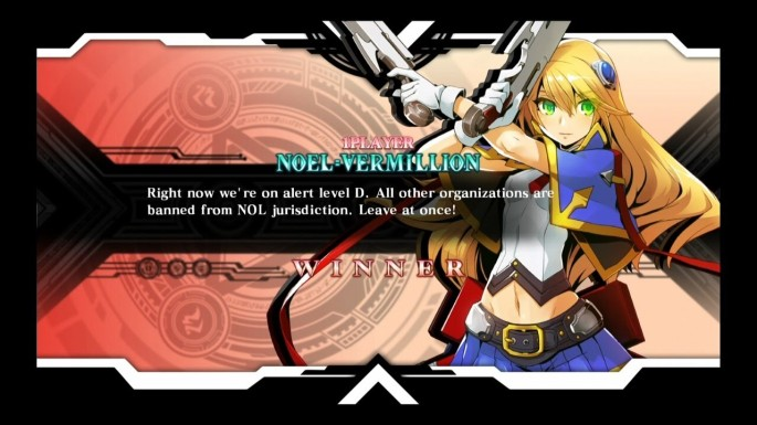 BlazBlue Central Fiction Cast Hazam Noel Vermillion Nine The Phantom Ragna Bloodedge Mai Natsume Naoto Kurogane Character Select Screen Arakune Astral Heat Nu 11 Es Win Screen