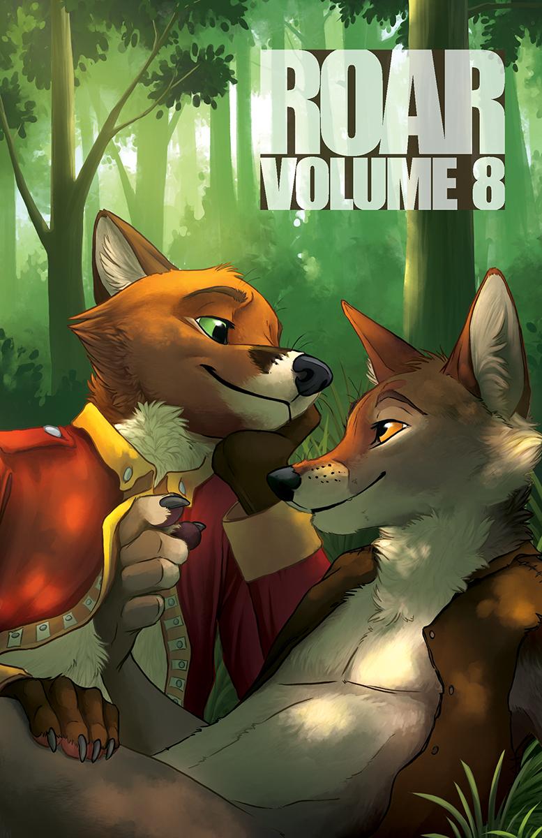 ROAR 8 paradise bad dog books furry furries anthro anthology nor killik sci-fi