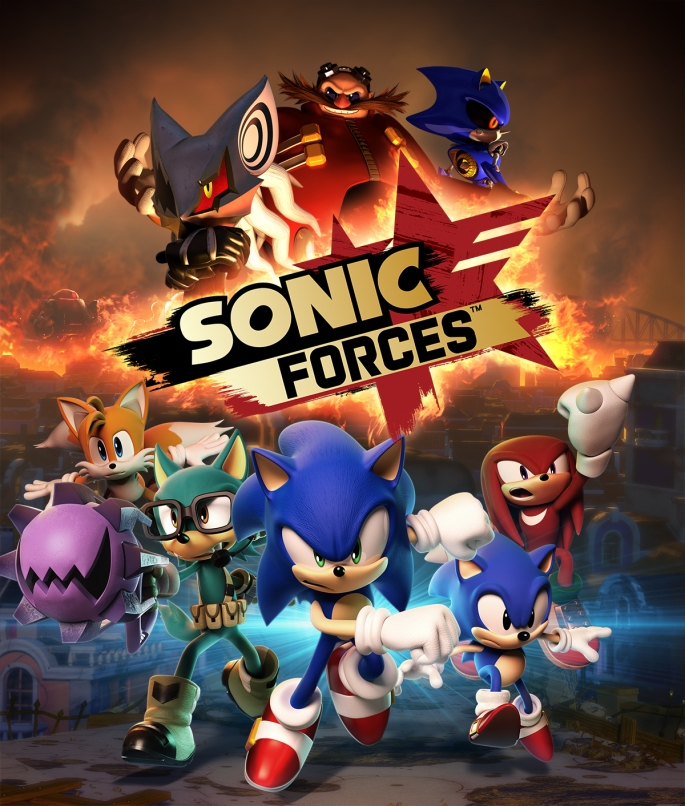 sonic forces artwork avatar knuckles tails classic modern infinite eggman robotnik metal