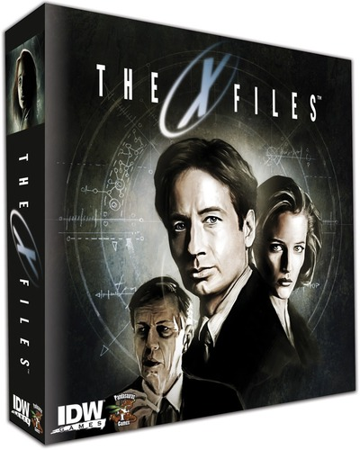 X Files X-Files The board game IDW box art