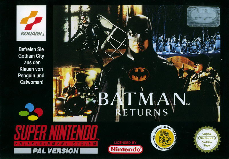 batman returns snes konami penguin catwoman