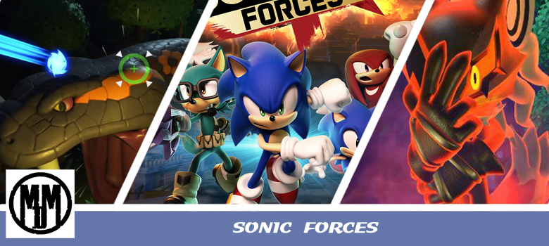 SONIC FORCES GAME REVIEW HEADER