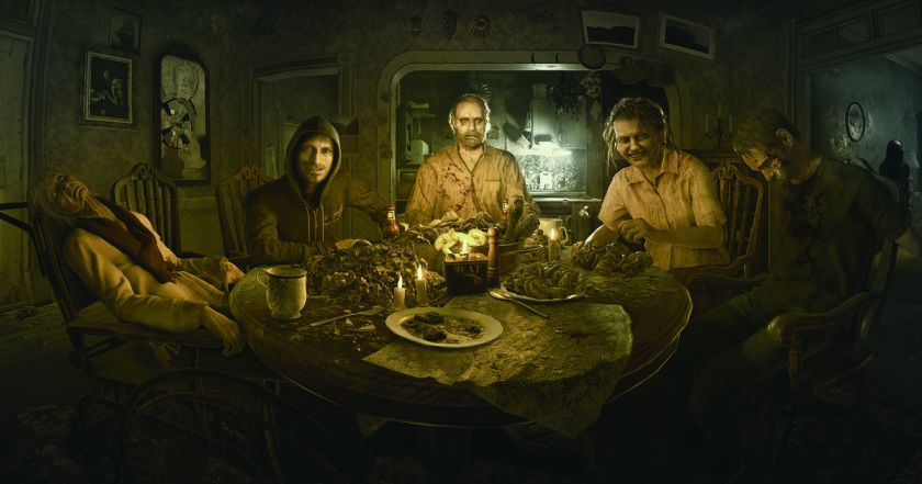 resident evil 7 seven biohazard re7 survival horror graphics family baker