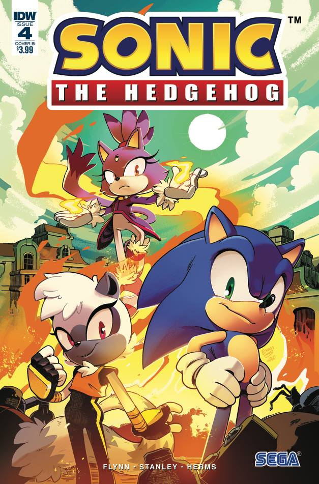 Sonic The Hedgehog 4 Idw Publishing Comic Review Matt Doyle Media