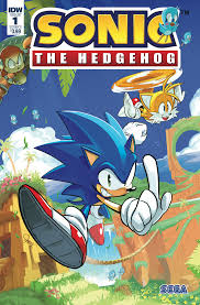Sonic the hedgehog IDW publishing issue 1 ian flynn tails