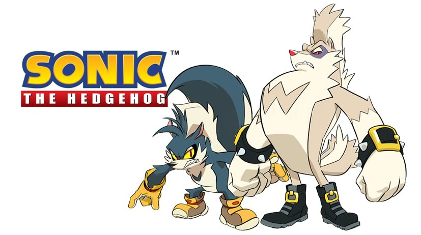 Sonic the hedgehog IDW publishing issue 3 ian flynn knuckles the echidna jennifer hernandez rough and tumble