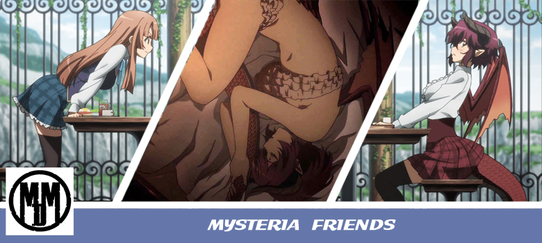 mysteria manarai friends bluray anime review box art mvm entertainment fantasy yuri header