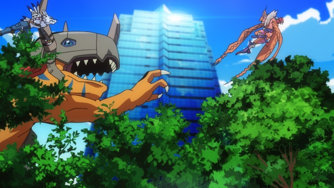 digimon adventrue tri coexistence metal greymon weregarurumon meicrackmon vicious mode