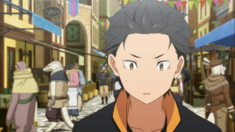 re zero starting life in another world subaru natsuki isekai