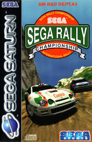 sega saturn box art rally championship