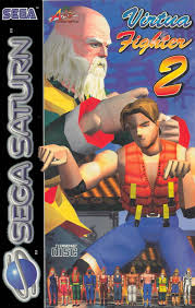 sega saturn box art virtua fighter 2