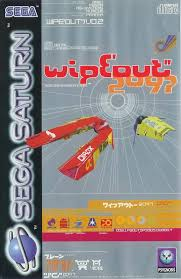 sega saturn box art wipeout 2097