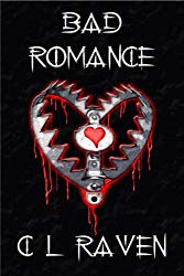 CL Raven Bad Romance Book Cover Horror Anthology