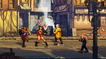 Streets of Rage 4 lizardcube dotemu guard crush scrolling beat em up game games fighting axel stone blaze fielding fighter gameplay screenshot thug