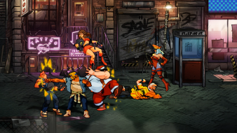 Streets of Rage 4 lizardcube dotemu guard crush scrolling beat em up game games fighting axel stone blaze fielding fighter gameplay screenshot thug mulitplayer co-op