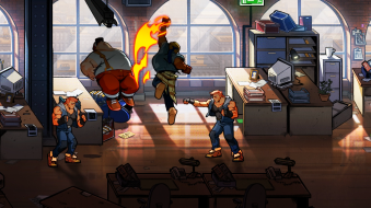 Streets of Rage 4 lizardcube dotemu guard crush scrolling beat em up game games fighting axel stone blaze fielding fighter gameplay screenshot thug mulitplayer co-op single player