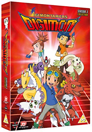 Digimon Tamers Takato Matsuki Matsuda Guilmon Rika Nonaka Ruki Makino Renamon Henry Wong Terriermon Calumon Manga Entertainment DVD Box Set Cover