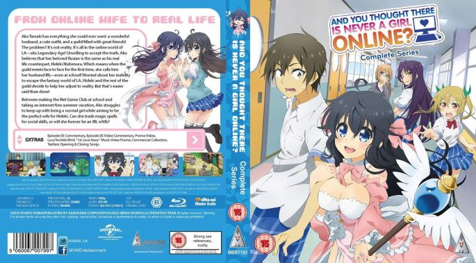 And You Thought There Is Never A Girl Online Complete MVM Entertainment BluRay DVD Comedy Romance