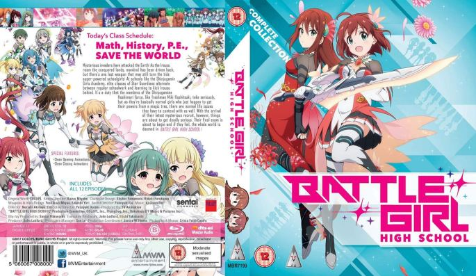 Battle Girl High School Cover MVM Entertainment
