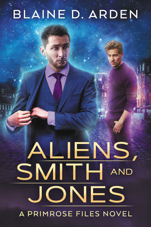 COVER Aliens Smith and Jones Primrose Files Blaine D Arden MM Romance Sci-Fi