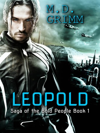 Leopold MD Grimm Sci-Fi LGBT MM book cover