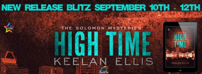 High Time Keelan Ellis MM Romance Mystery Crime Drama NineStar Press