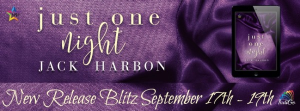 Just One Night Jack Harbon MM Romance Bisexual Contemporary