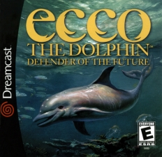 Sega Dreamcast ecco the dolphin defender of the future
