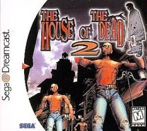 Sega Dreamcast hosue of the dead 2