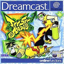 Sega Dreamcast jet set radio