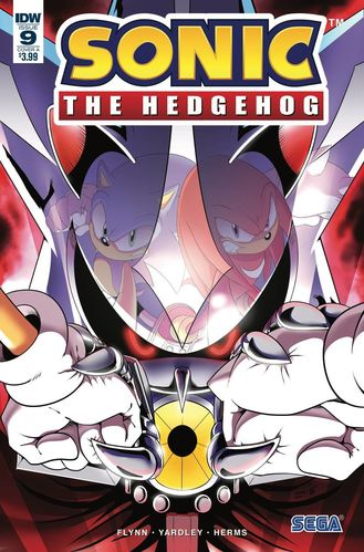 Sonic the Hedgehog IDW issue 9 cover a
