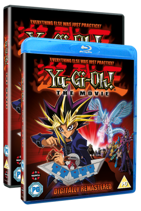 YuGiOh The Movie Pyramid Of Light DVD BluRay Manga Entertainment Dub Remastered