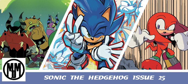 IDWSonic25 comic review header