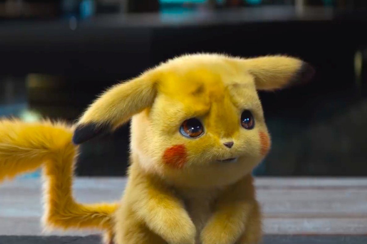 Detective Pikachu Pokemon Live Action Film Movie Trailer Ryan Reynolds