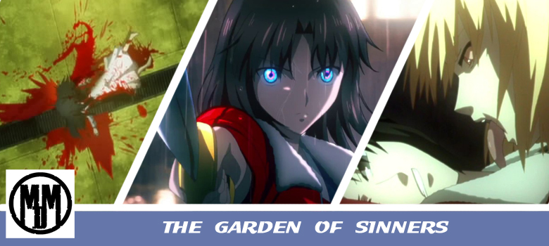 Garden of Sinners Colletor's Edition Blu-ray cover MVM Entertainment Header