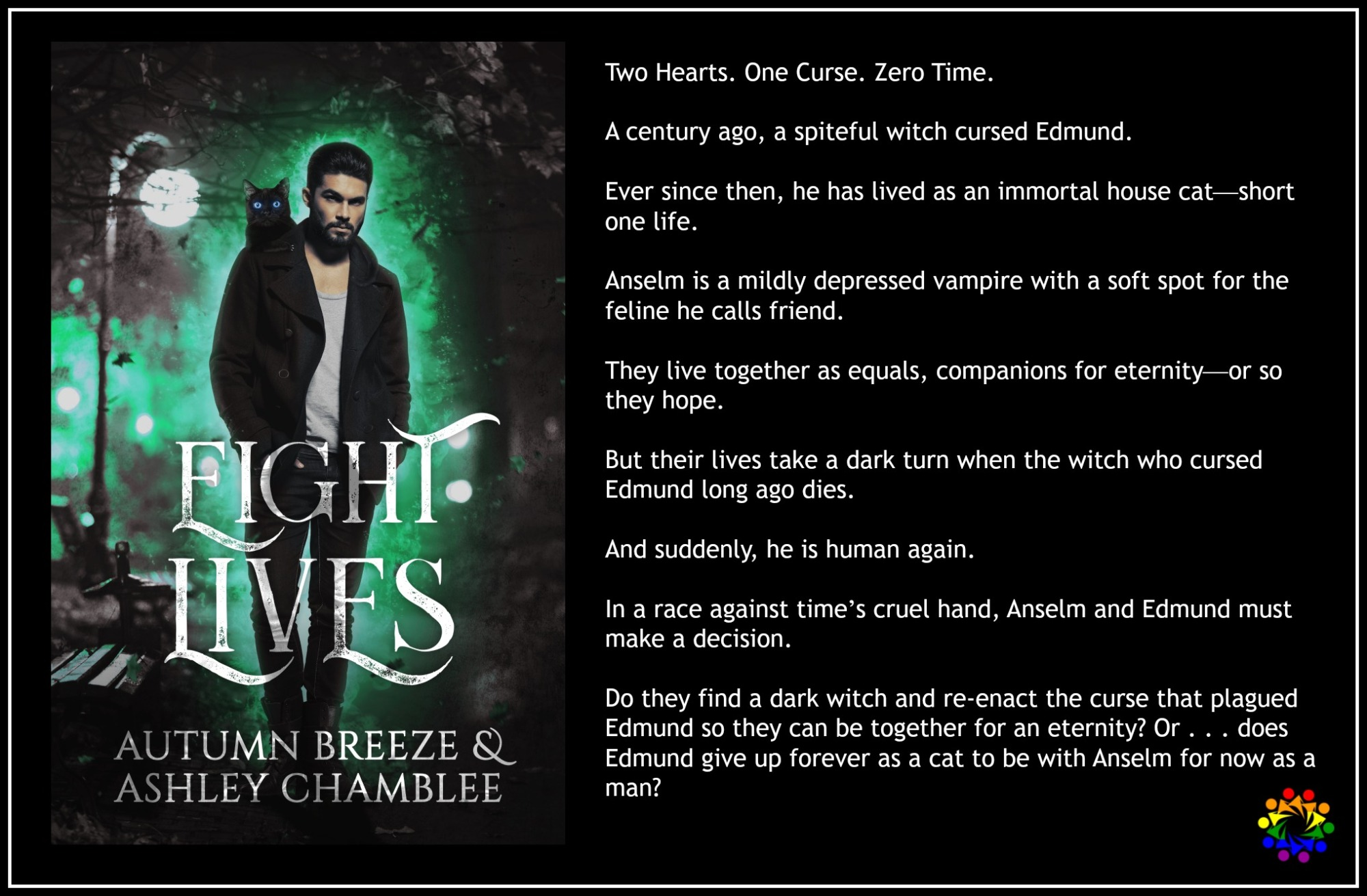 Eight Lives Autumn Breeze Ashley Chamblee MM Romance Urban Fantasy