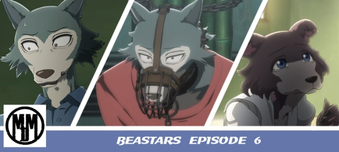 Beastars episode 6 legosi muzzle chain juno anime episode review furry header