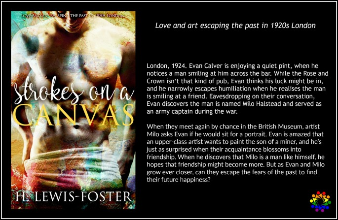 STROKES ON A CANVAS H Lewis Foster Historical MM Romance