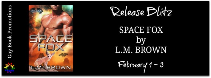 Space Fox by LM Brown MM Shifter Romance