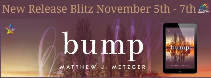 Bump by Matthew J Metzger IndiGo Marketing Own Voices Teans Bi MM Romance Contemporary