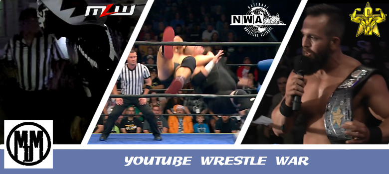 YouTube Wrestle War MLW Fusion 80 OVW TV 1053 NWA Powerrr 3