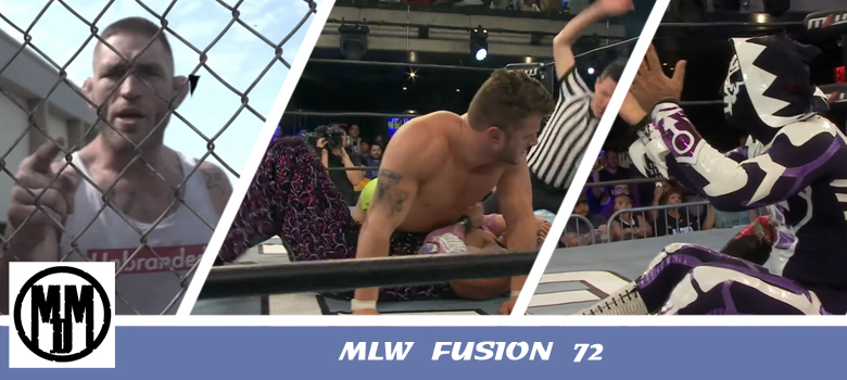 MLW Fusion 72 Header
