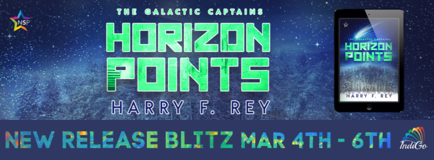 Horizon Points LGBTQ Sci-Fi MM Romance Harry F Rey