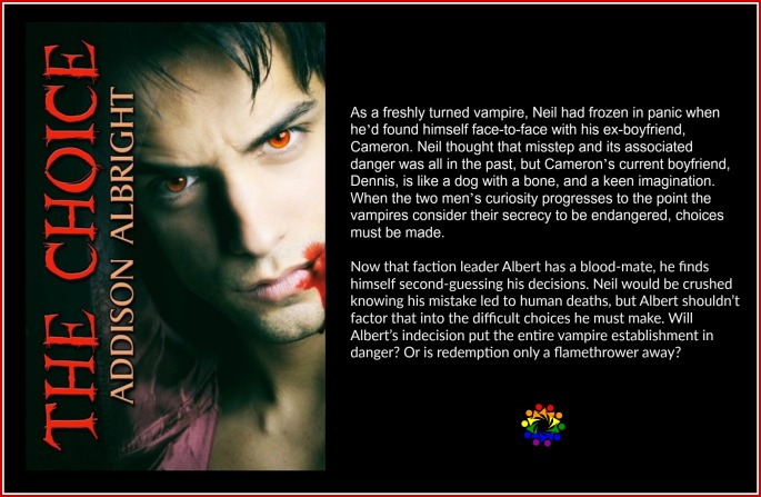 The Choice Addison Albright Vampire MM Romance Paranormal Contemporary