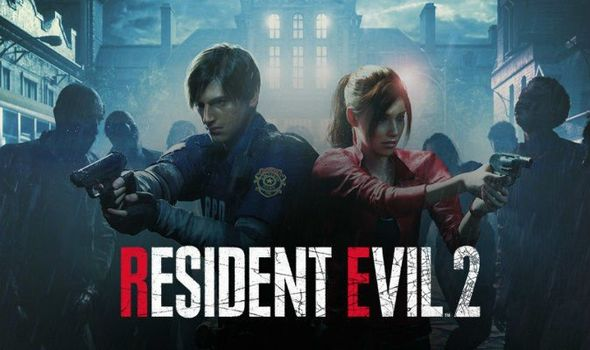 Resident Evil 2 2019 remake Claire Leon