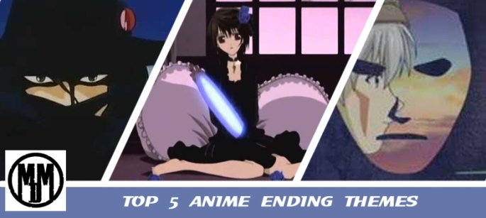 top 5 anime ending themes vampire hunter d knight hack sign attack on titan wolfs rain header