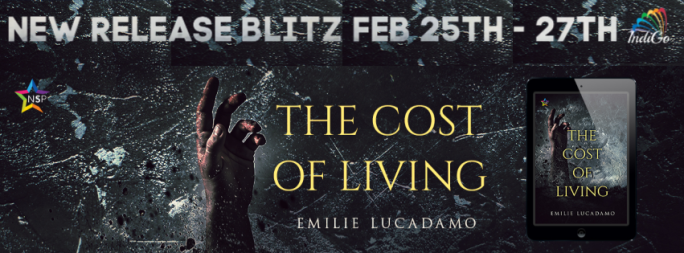The Cost of Living Emilie Lucadamo LGBTQ Horror IndiGo Marketing