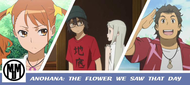 Anohana The Flower We Saw That Day Bluray ANIME REVIEW HEADER MVM ENTERTAINMENT